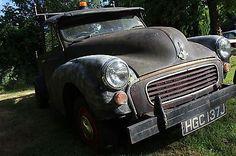 eBay: MORRIS MINOR PICKUP HOTROD RATROD PROJECT (read descript please) CLASSIC CAR #classiccars #cars