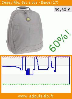 Delsey Pilo, Sac à dos - Beige (17) (Luggage). Réduction de 60%! Prix actuel 39,60 €, l'ancien prix était de 98,97 €. https://www.adquisitio.fr/delsey/pilo-sac-dos-beige-17