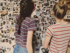 Decorating rooms - friends. photos. memories.