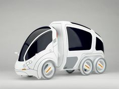 The Citi.Transmitter is a versatile urban-transportation concept that expands on the shared-vehicle solution by offering a mix of eco-friendly modular units for a variety of needs. Using an innovative smart-hitch system, users can easily attach modules to the primary 2-wheeled car to carry more passengers or cargo. About a 4th of the size of standard cars, the ultra-compact vehicle makes getting around heavily congested cities a cinch!    By Yanko Design.