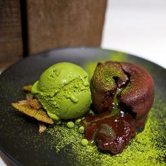 Chocolate Green Tea Lava, Spot Dessert Bar nyc... delicious