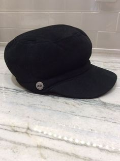 Authentic UGG Australia Genuine Shearling Sheepskin Cap Hat One Size   fashion  clothing  shoes bb1a72574