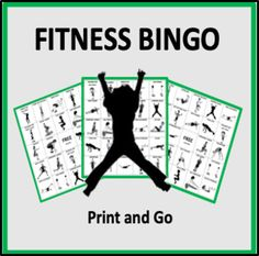 This is one of the games included in our product Social Distancing PE Games.Fitness Bingo is a game designed to get kids active. The fitness tasks include cardiovascular, strength, flexibility, and balance exercises. Each exercise includes a clear graphic and explanation. This game is best for Grade... Secondary Resources, Learning Resources, Teacher Resources, Teaching Ideas, Elementary Physical Education, Elementary Teaching, Pe Activities, Workout Posters, Fitness Posters
