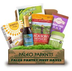 One Stop Paleo Shop, Paleo Parents 'Paleo Pantry Must Haves' Box