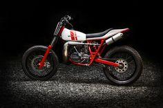 Bultaco Astro 360 Street Tracker by Freeride Motos #motorcycles #streettracker #motos | caferacerpasion.com