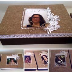 Caixas personalizadas para homenagear no encontro da Família Bebém e Luzia !!🍸🍸🍸 - ginaribeiros