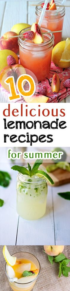10 Delicious Lemonade Recipes for Summer -