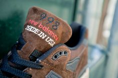 New Balance 998 (MADE IN USA!) In Brown Now Available | Feature Sneaker Boutique