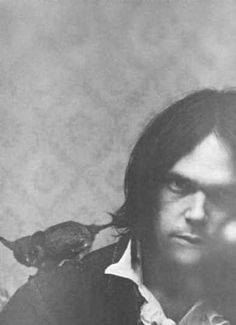 """Neil Young & friend, """"The '60s was one of the first times the power of music was used by a generation to bind them together."""""""
