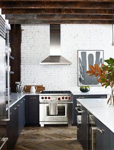 Modern kitchen in a