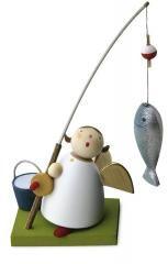 Günter Reichel - Schutzengel mit Fisch an Angel