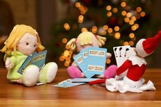 Elf on the Shelf - playing cards