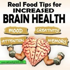 Your brain uses a disproportionate amount of energy – there's a lot going on up there! That's why it's vital you give your brain the best food you can find, and that means eating real food.Here's some quick tips to keep your brain healthy and happy...