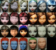 Friendly faced monster high||I know this guy and he does fantastic repaints.
