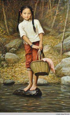 童年---李自建油画选 - 倾城之恋的日志 - 网易博客