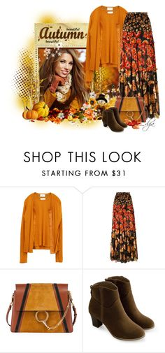 """""""Long skirt for Fall"""" by dgia ❤ liked on Polyvore featuring Lanvin and Chloé"""