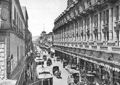 16 de septiembre 1910. A la derecha El Centro Mercantil