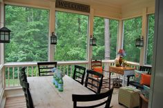 Screened Back Porch Ideas | Screened Porch Ideas Decoration