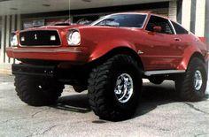 Off Road Mustang
