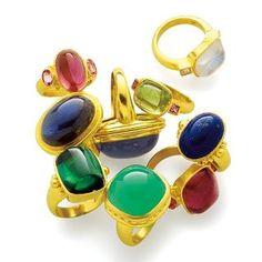 Elizabeth Locke rings
