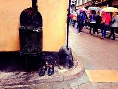 Old shoes, Stockholm