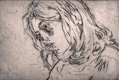 Drypoint Printmaking - Angie Hoffmeister, artist and illustrator from Dusseldorf