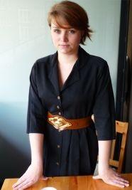 Black dress  #vintage www.secondoutfit.cz