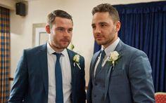 Scrub up well Ross Barton, Aaron Livesy, Danny Miller, Floral Tie, Handsome, Husband, June