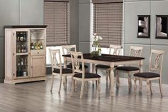 Dining Table & Chairs Set 103581