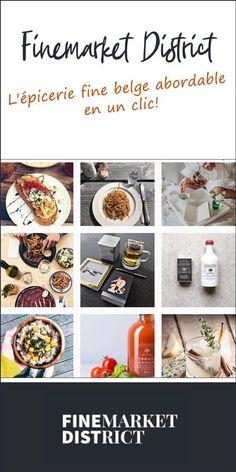 Découvrez Finemarket District l'eshop belge de produits d'alimentation haut de gamme à petits prix Code Promo, Blogging, Community, Dreams, French, Breakfast, Food, Natural Health, Healthy Diet Foods