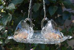 Punch Cups Hanging Bird Feeder