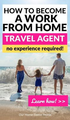 How To Become a Work From Home Travel Agent (+ enjoy all the perks!) - Work From Home Travel Agent Travel Agent Jobs, Become A Travel Agent, Travel Agency, Travel Jobs, Work From Home Jobs, Make Money From Home, Way To Make Money, Make Money Online, Virtual Travel