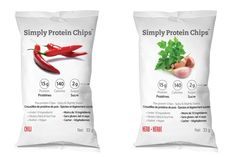 Ready to Eat Snacks-Simply Protein Healthy Chips Healthy Chips, Healthy Treats, Raw Food Recipes, Healthy Recipes, Dairy Free, Gluten Free, Calories, Protein Bars, Raw Vegan