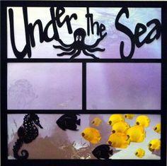 EZLaserDesigns : Under the Sea Title