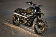 Triumph Scrambler Custom by Ton-Up Garage