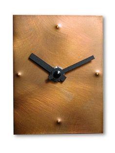 INtheTIME Handmade Clocks, Unique Clocks, Cool Clocks, Home Clock, Diy Clock, Clock Ideas, Metal Art, Wood Art, Wooden Clock