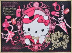 Hello Kitty Beaujolais Nouveau 2012 limited gift box Label