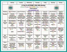 Detox diet plan and shopping list photo 3