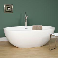 """65"""" Allene Resin Freestanding Tub"""