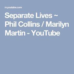 Phil Collins - Separate Lives Lyrics | MetroLyrics