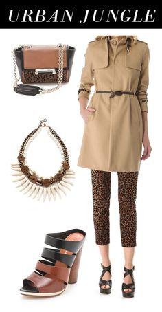 Urban Jungle/ safari fashion