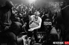 """#RayBan bajo el lema de """"Legends"""", campaña """"Never Hide""""."""