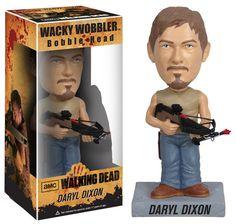 The Walking Dead Wacky Wobbler Wackelkopf-Figur Daryl 18 cm The Walking Dead Wackelkopf - Figuren - Hadesflamme - Merchandise - Onlineshop für alles was das (Fan) Herz begehrt!