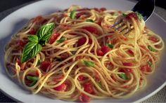 Barilla® Spaghetti with a Fresh Tomato & Basil Sauce