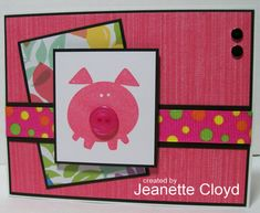 Oink! Oink! by Forest Ranger - Cards and Paper Crafts at Splitcoaststampers