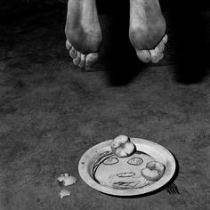 "Fragments, 2005. From the series ""Boarding House"" © Roger Ballen"
