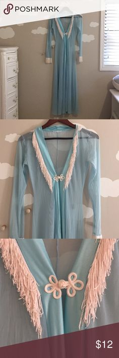 Vintage sheet robe Xs. Good condition Intimates & Sleepwear Robes