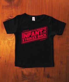 Star Wars The Infant Strikes Back T-shirt