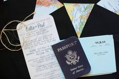 travel shower invites. theme idea...the places you'll go...good one right?  i know!