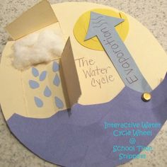 Water Cycle, wish I would have seen this a couple months ago when we studied the water cycle.